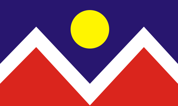 File:Denver, Colorado Flag.png