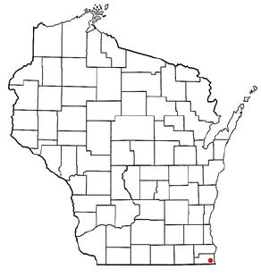 File:Pleasant Prairie, WI Map.png