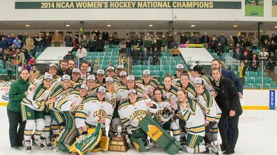 2017 ECAC Women's champs Clarkson Golden Knights