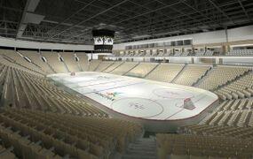 New Moncton Arena interior imag