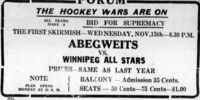 1933-34 Manitoba Senior Hockey League Season