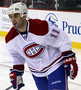 Scott Gomez Canadiens 2012.jpg