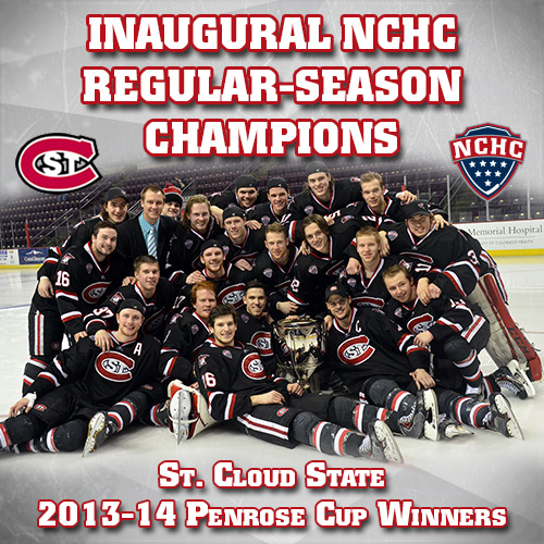 SCSU Penrose Champs splash