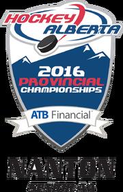 2016 Alberta Sr. AA Playoff logo
