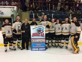 2016-17 CAJAAHL champs Bellechasse Lafontaine