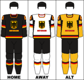 Germany national hockey team jerseys