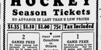 1933–34 Ottawa Senators season