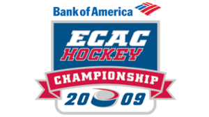 2009 ECAC Hockey Tournament Logo