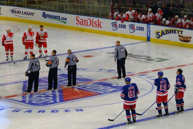 File:NHL officials at MSG.jpg