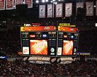 New scoreboard