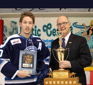 Dan Taillefer (2016 Lorne Lyndon for Hockey Ability & Sportsmanship)