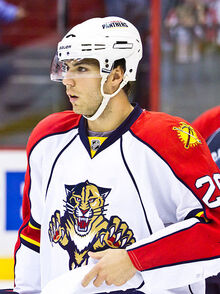 Steve Bernier Panthers 2011-04