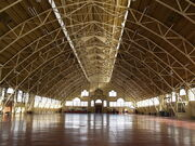 Aberdeen Pavilion - Inside - Winter