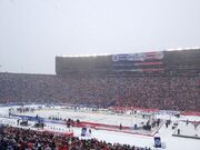 2014 NHL Winter Classic before puck drop