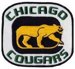 Chicago Cougars Patch