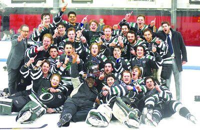 2015 EHL champs Connecticut Oilers