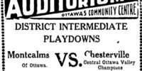 1930-31 Ottawa District Senior Playoffs