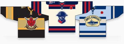 Memorial Cup Commemorative jerseys