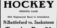 1915-16 Saskatchewan Senior Playoffs