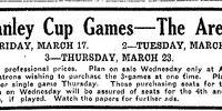 1922 Stanley Cup Finals