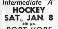 1954-55 OHA Intermediate A Groups