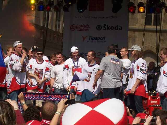 File:Arrival of the ice hockey world champions - Prague, Old Town Square - 24 May 2010.jpg