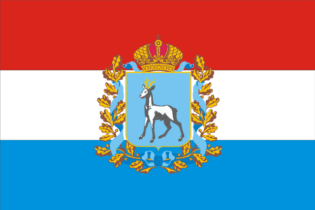 File:Flag of Samara Oblast.png