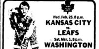 1974–75 Toronto Maple Leafs season