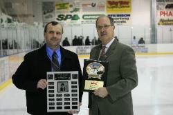 "Dwayne Kirkup receives ""Muzz McPherson"" Award"