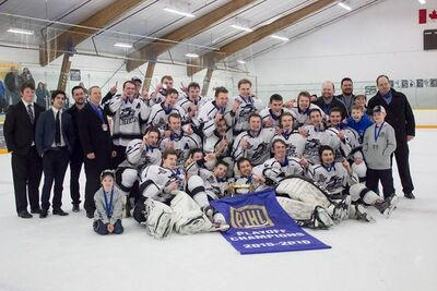 2016 PacJHL champs Mission City Outlaws