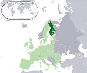 Location Finland EU Europe