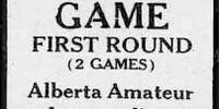 1933-34 Alberta Intermediate Playoffs