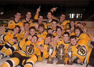 2007 EJHL champs Boston Jr. Bruins