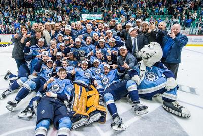 2015 QMJHL champs Rimouski Oceanic