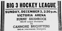 1944-45 ABSHL Season