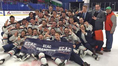 2017 ECAC West Men's champs Hobart Statesmen