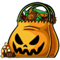 Full Halloween Treat Bag