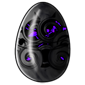Purple Swirl Jakrit Egg
