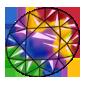 Rainbow Gemstone