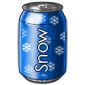 Blueberry Snow Soda
