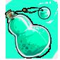Bluegreen Snow Jar