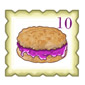 Grape Jelly Biscuit Stamp