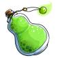 Green Snow Jar