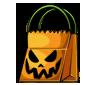 Empty Halloween Treat Bag