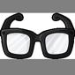 Black Hipster Glasses