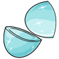 Empty Frozen Jakrit Egg