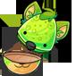 Empty Green Ridix Jakrit Egg