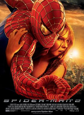 Spider-Man 2 (2004) Theatrical Poster