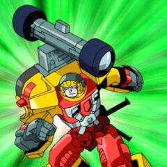 Autobot Soldier Hot Shot