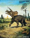 Triceratops prorsus - Cretaceous dinosaur